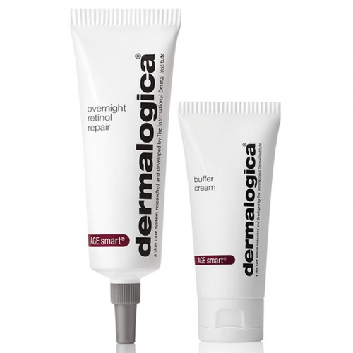 Dermalogica Age Smart Overnight Retinol Repair 0.5% 30ml with Buffer Cream 15ml